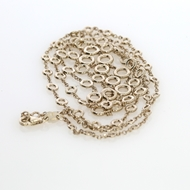 Изображение Bezel Set Diamond Necklace 4.75 CTW