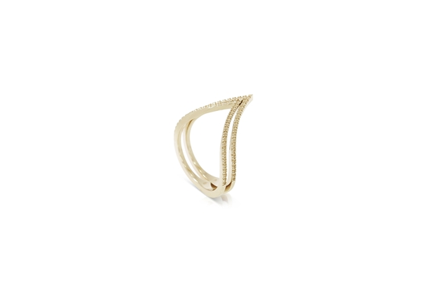 Picture of Double V Shape Ring