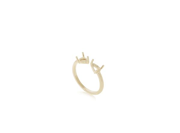 Изображение 2 Stone Pear Ring