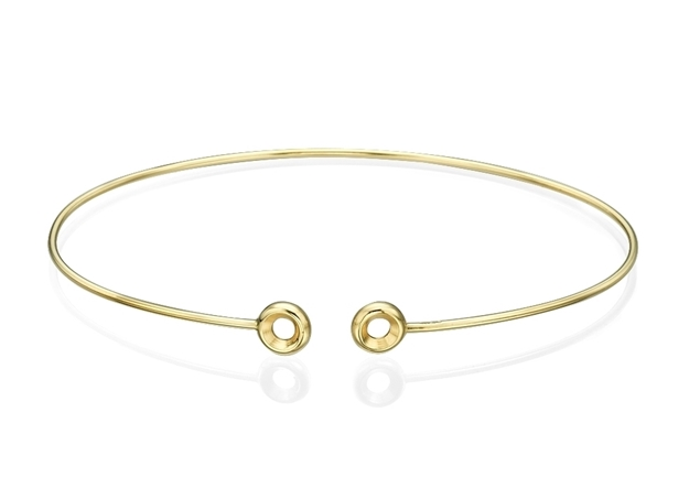 Picture of Diamond Flexible Round Tube 1.5x60mm Bangle