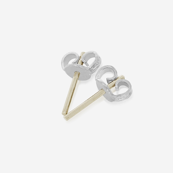 Picture of Friction Earnuts with Posts 1.0 mm