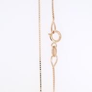 Picture of Box Chain Necklace Diamond Cut