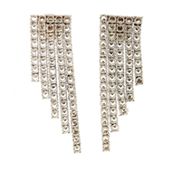 Picture of Five Lines Diamond Earrings