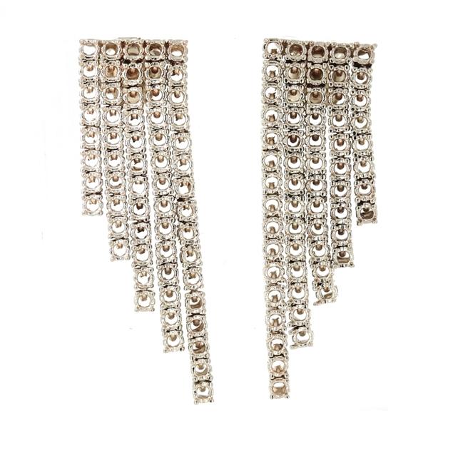 Изображение Five Lines Diamond Earrings