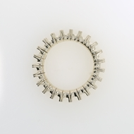 Изображение Flexible Emerald Shape Ring