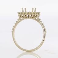 Изображение Halo Style Engagement Ring -Princess Center